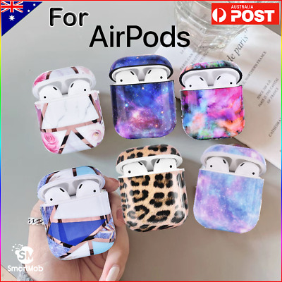 AU11.95 • Buy Apple AirPods Gen 1/2 Premium Marble Style Protective Case Cover