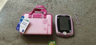 £29.95 • Buy Leappad 2 Tablet Pink/purple Learning Console + Carry Case + Learn To Read