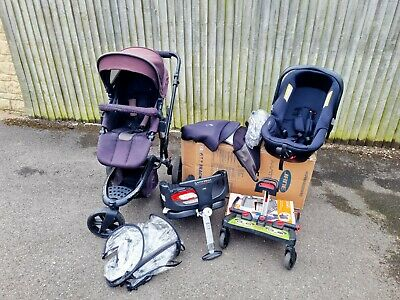 £19.99 • Buy  Jane Matrix Carseat Isofix Travel Cot System With Off Road Trider Pushchair