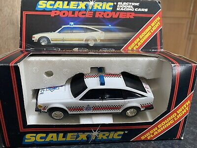 £60 • Buy Scalextric C.315 Police Rover Boxed