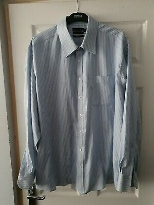 £2.49 • Buy M&S Tailoring, Ultimate Pure Cotton Shirt, Non Iron UK Size 18.5