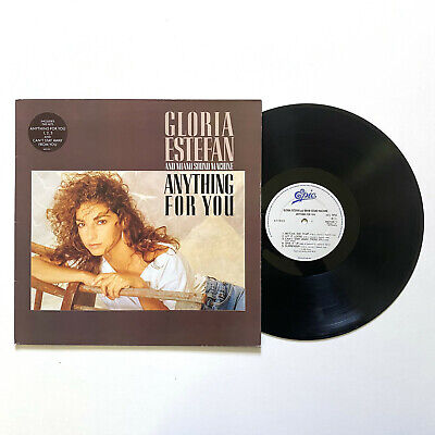 £5.99 • Buy GLORA ESTEFAN Anything For You LP Epic VG+/VG+ 1988 With Hype Sticker