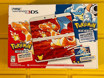 $849 • Buy Brand NEW Nintendo 3DS Pokemon 20th Anniversary Red & Blue Edition Console
