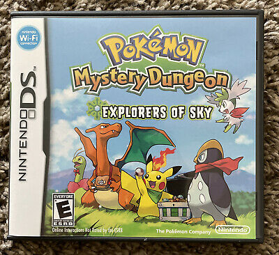 $45 • Buy Pokémon Mystery Dungeon Explorers Of Sky Case, Manual And Inserts Only (NO GAME)