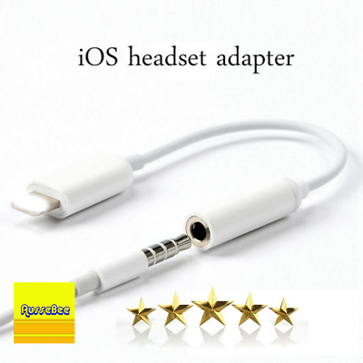 AU7.50 • Buy IPhone To 3.5mm AUX Headphone Audio Jack Adapter Cable IPhone 7 8 X XR 11 12 Max