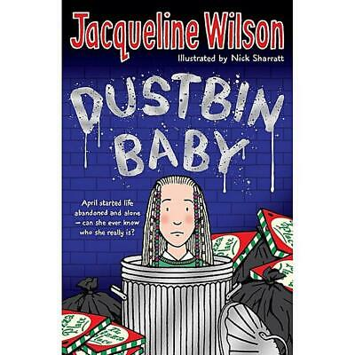 £6.99 • Buy Dustbin Baby By Jacqueline Wilson (English) Paperback Book Free Shipping!