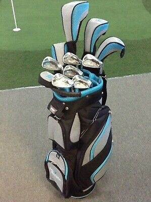 AU799.99 • Buy PGF LADY FUTURA Graphite Package - Full Ti Driver, Deluxe Bag, Putter & Covers