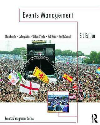 £50.49 • Buy Events Management By Glenn Bowdin (English) Paperback Book Free Shipping!