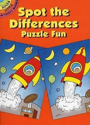 £3.99 • Buy Spot-The-Differences Puzzle Fun By Fran Newman-D'Amico (English) Paperback Book