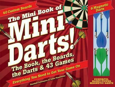 £12.99 • Buy The Mini Book Of Mini Darts: The Book, The Boards, The Darts, And 43 Games By Ra