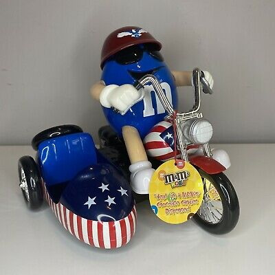 £23.99 • Buy M & M's Motorbike Chocolate Dispenser With Side Car Candies From M&M's World USA