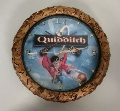 £19.99 • Buy Vintage Harry Potter Quidditch Wall Clock Working Tested