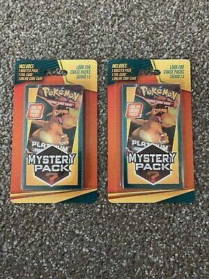 $36 • Buy 2 Walgreens Pokemon Mystery Pack Charizard Chase VINTAGE Pack 1:5 CHANCE SEALED