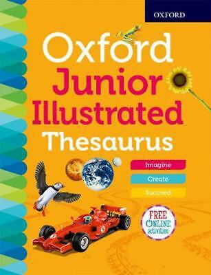 £10.99 • Buy Oxford Junior Illustrated Thesaurus By Oxford Dictionaries (English) Paperback B