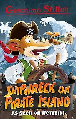 £6.99 • Buy Shipwreck On Pirate Island By Geronimo Stilton Paperback Book Free Shipping!