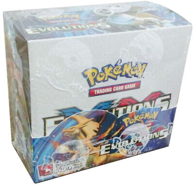 $500 • Buy Pokemon TCG: XY Evolutions Sealed Booster Box - 36 Packs Of 10 Unbranded Cards