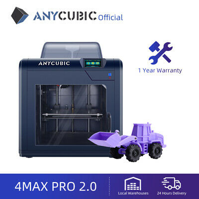 £10.50 • Buy ANYCUBIC 4Max Pro 2.0 FDM 3D Printer With Large Build Volume 270x210x190mm UK