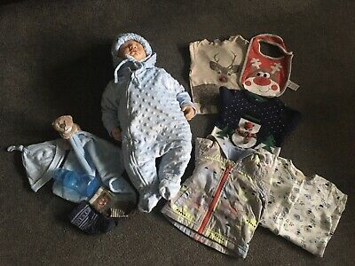 £25 • Buy 20  Reborn Doll By Pat Secrist American Doll Designs Weighted Hand Rooted Hair