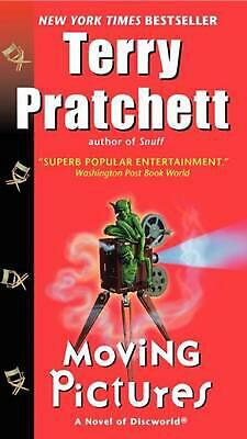 £9.99 • Buy Moving Pictures: A Novel Of Discworld By Terence David John Pratchett (English)