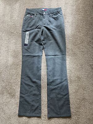 £5 • Buy Tommy Jeans Grey Trousers Size 3 Hipster Flare BNWT