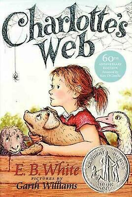 £9.65 • Buy Charlotte's Web By E.B. White (English) Hardcover Book Free Shipping!