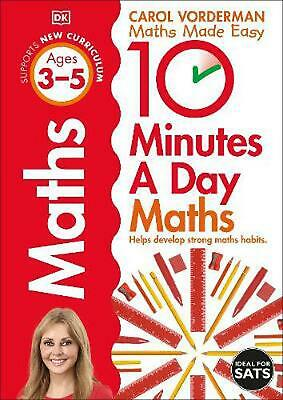 £7.99 • Buy 10 Minutes A Day Maths, Ages 3-5 (preschool) By Carol Vorderman Paperback Book F
