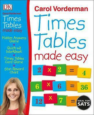 £16.49 • Buy Times Tables Made Easy By Carol Vorderman (English) Hardcover Book Free Shipping