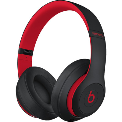 £100 • Buy Beats By Dr. Dre Studio3 Over The Ear Wireless Headphones - Black/Red