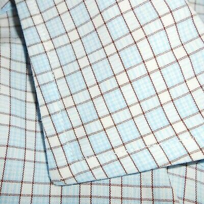 £9.47 • Buy 16 1/2 - 36 Brooks Brothers SLIM FIT French Cuff Dress Shirt White/Blue/Brown