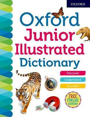 £10.99 • Buy Oxford Junior Illustrated Dictionary By Oxford Dictionaries (English) Paperback