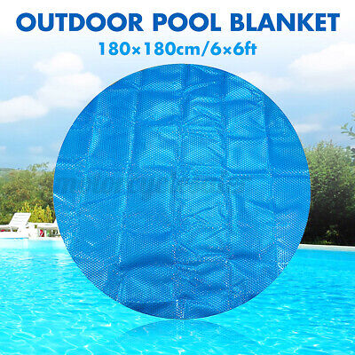£21.56 • Buy 6Ft Round 400Micron Swimming Pool Hot Tub Cover Solar Blanket Retention Bubble