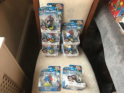 £39.99 • Buy 7 X THE SMURFS SWAPPZ FIGURE KEYRING CLASPS 5 X NEW 2 X USED