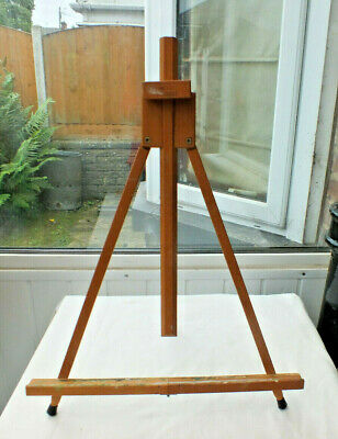 £27.99 • Buy Easel - Mabef Wooden Table Top Travel Easel Italian A Frame Folding