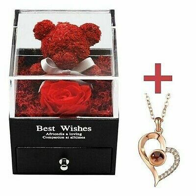 AU61.13 • Buy  Forever Rose Romantic Gifts For Her On Valentine's Day Mother's Day Anniversary