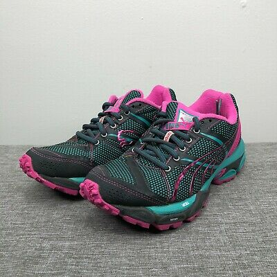 AU40.99 • Buy Puma Shoes Womens 7.5 Pink Blue Complete Nightfox TR Trail Running Sneakers