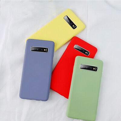 AU8.39 • Buy Case For Samsung Galaxy S20 S10 A51 Shockproof Liquid Silicone TPU Phone Cover