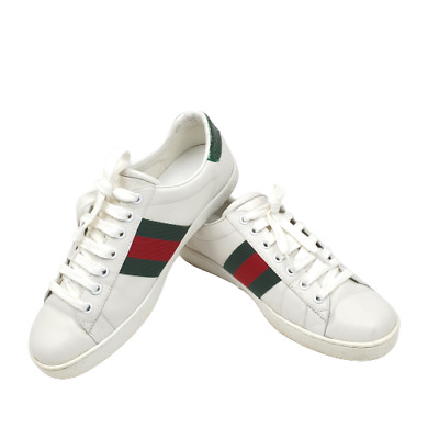 AU259.95 • Buy Mens Gucci Ace Bee Embroidered Sneakers Shoes, Size 8