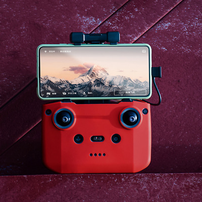 AU9.20 • Buy For DJI Mavic Air 2 Silicone Remote Control Protective Cover (Red)