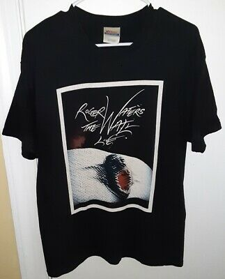 £9.10 • Buy Mens 2010 Roger Waters The Wall Live Tour Black T-Shirt Size Large