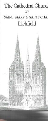 £6.75 • Buy  The Cathedral Church Of St Mary & Saint Chad Lichfield Stowe Staffordshire