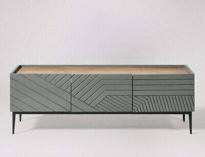 £350 • Buy Ex-Display Swoon Lima TV Stand, Grey / Free Delivery