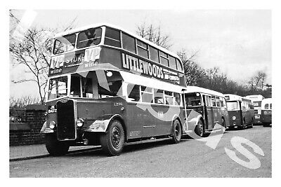 £1.20 • Buy Bus Photograph POTTERIES MOTOR TRACTION JX 8472 [L276] Stoke '58
