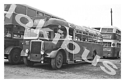 £1.20 • Buy Bus Photograph POTTERIES MOTOR TRACTION MRF 351 [S321] Newcastle '60