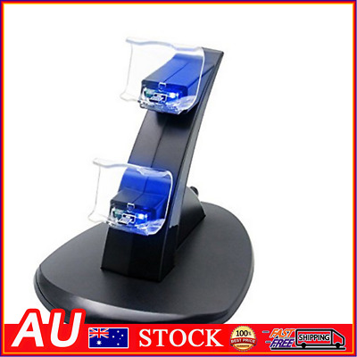 AU12.39 • Buy Controller Charger Dock Station Joystick Dual USB Charging Stand For PS4