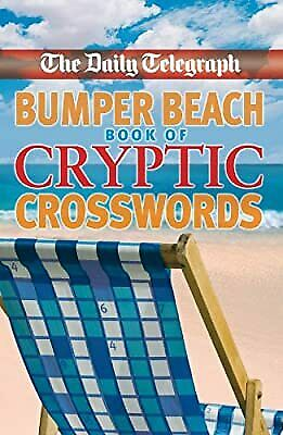 £14.66 • Buy The Daily Telegraph Bumper Beach Book Of Cryptic Crosswords, Telegraph Group Lim