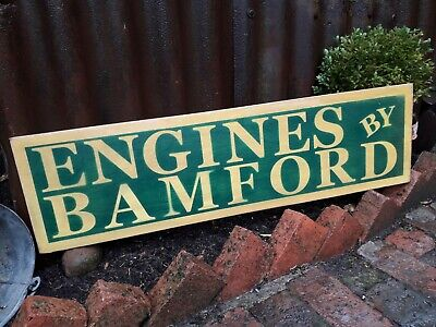 £45 • Buy Stationary Engines Bamford Sign Wolseley Villiers Petrol Lister Ruston Hornsby