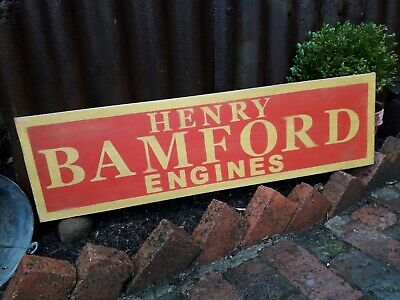 £55 • Buy Stationary Engines Bamford Sign Wolseley Villiers Petrol Lister Ruston Hornsby