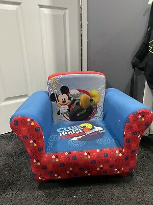 £43 • Buy Delta Children Upholstered Chair, Disney Mickey Mouse Good Condition