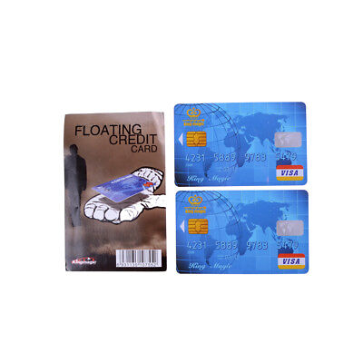 £2.78 • Buy Amazing Floating Credit Card Close Up Magic Prop Trick Magicians Toy Stage  YH