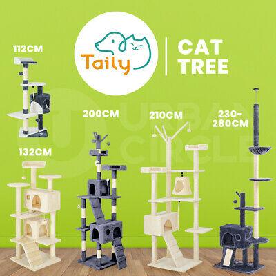 AU47 • Buy Taily Cat Tree Scratching Post House Condo Furniture Feline Scratcher Tower Toys